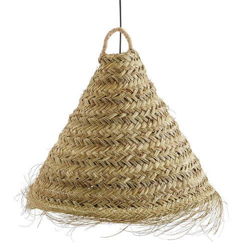 WESOKO Woven Palm Leaf Pendant Shade