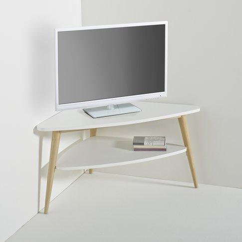 Jimi Vintage Two-Tier Corner Tv Unit