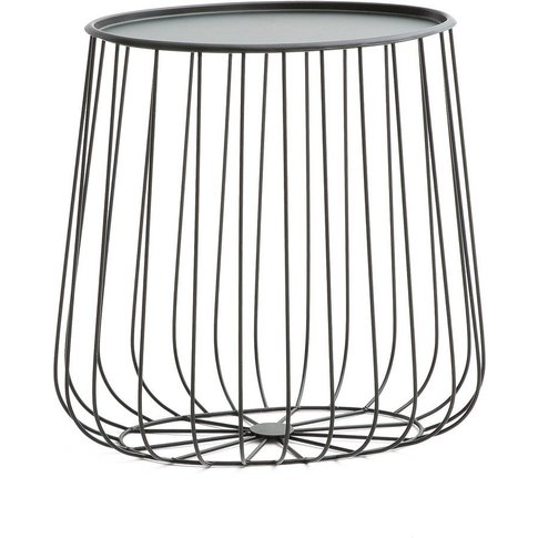Cage Oval Side Table