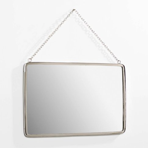 Barbier Rectangular Mirror, Width 50 X Height 37cm