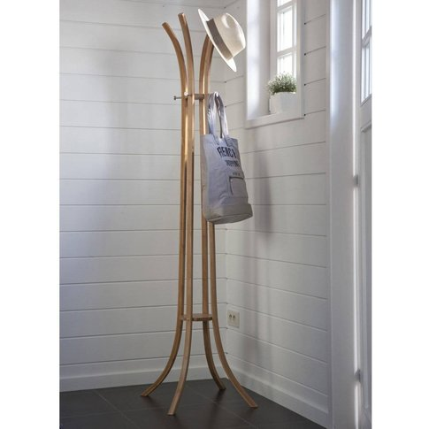Teepi, Bamboo 4-Arm Coat Stand