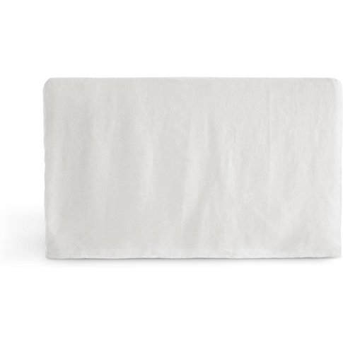 Abella Pre-Washed Linen Headboard Cover