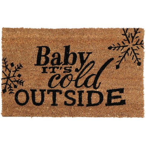 Cold Outside Doormat