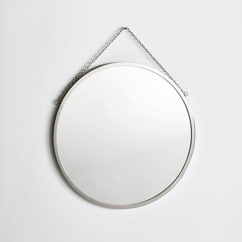 Round Barber's Mirror, Diameter 60cm