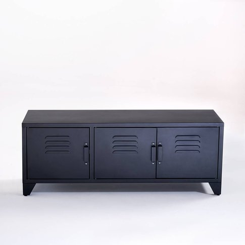 Hiba Industrial Style 3-Door Tv Unit