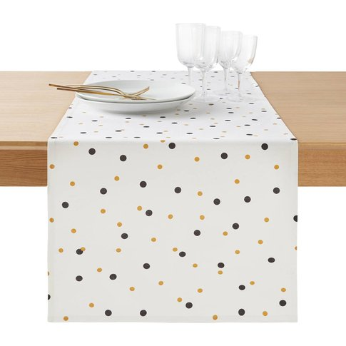 PERFECT TIME Printed Table Runner
