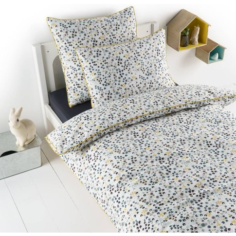 Olenna Pre-Washed Percale Duvet Cover