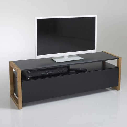 Compo Tv Unit With Push-To-Open Door