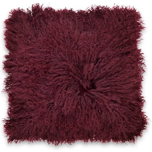 Osia Fluffy Mongolian Wool Cushion Cover