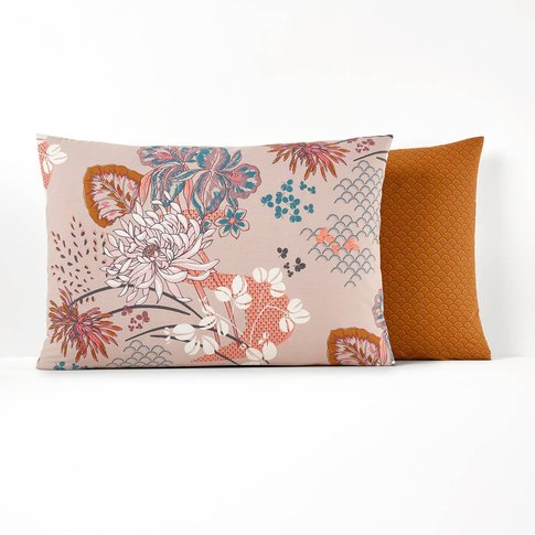 Chinese Flower Pillow Case