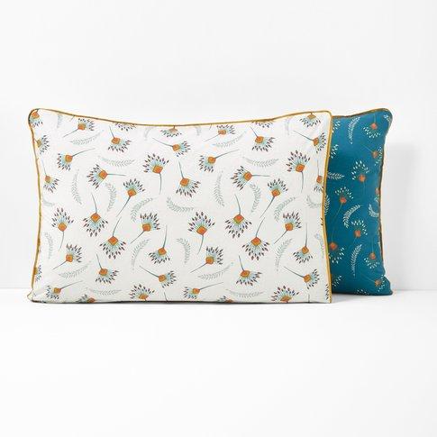 Palmyre Printed Cotton Percale Single Pillowcase