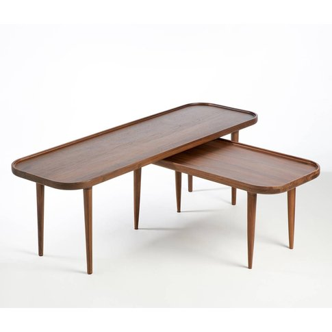 Large Magosia Solid Walnut Coffee Table