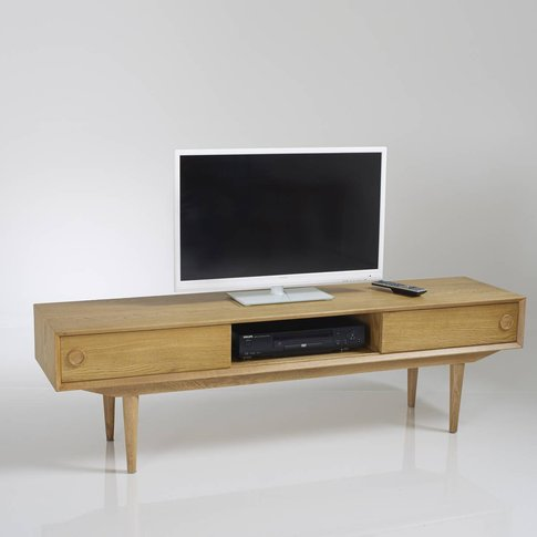Quilda Vintage Tv Unit With Storage
