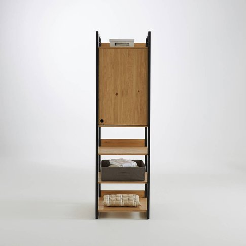 Hiba Solid Pine Storage Unit