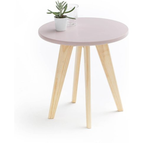 Jimi Round Pine Side Table