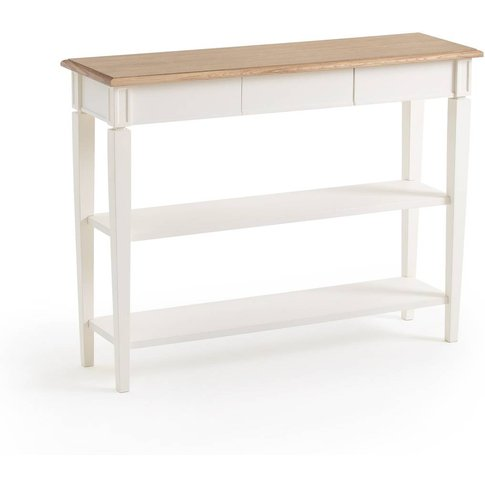 Adelia Console Table With 2 Shelves