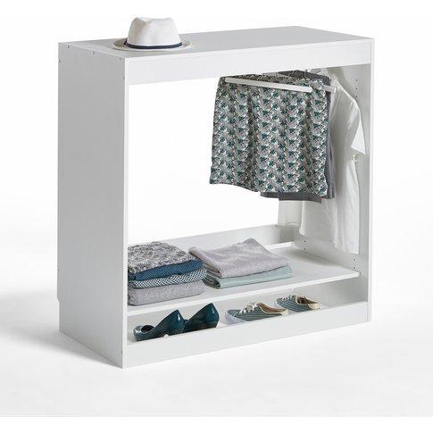 Build 1-Shelf Wardrobe Storage Unit With Hanging Rail