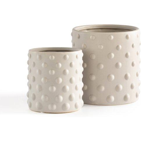 Benling Ceramic Plant Pots (Set Of 2)