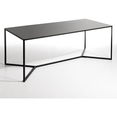 Romy Contemporary Metal Coffee Table
