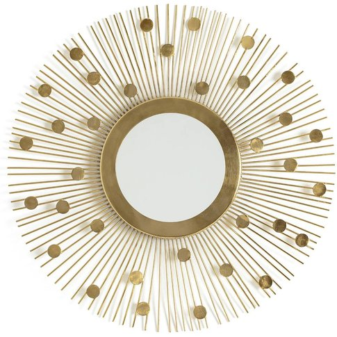 Soleil Vintage-Style Mirror