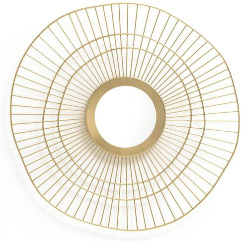 Spyk Brass Sun Mirror
