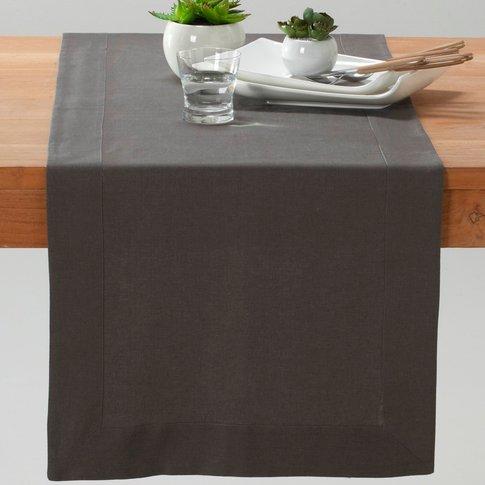 BORDER Cotton-Linen Table Runner