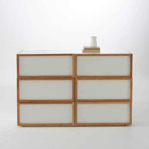 COMPO Scandi-Style Oak Chest of Drawers