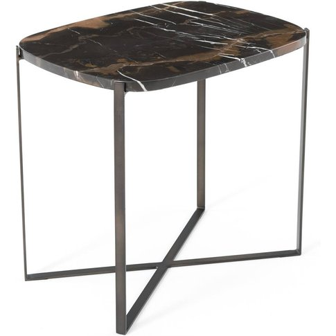 Arambol Amber Marble Side Table