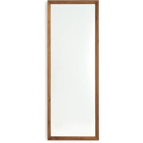 Andromede Wood Frame Mirror, H158cm