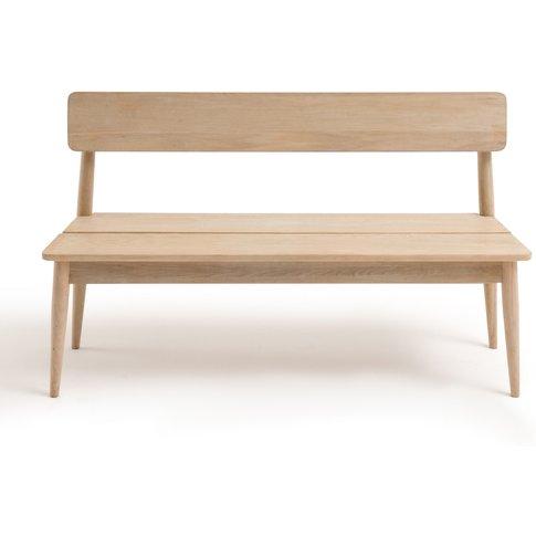 Natéo Hallway Bench In Solid Oak
