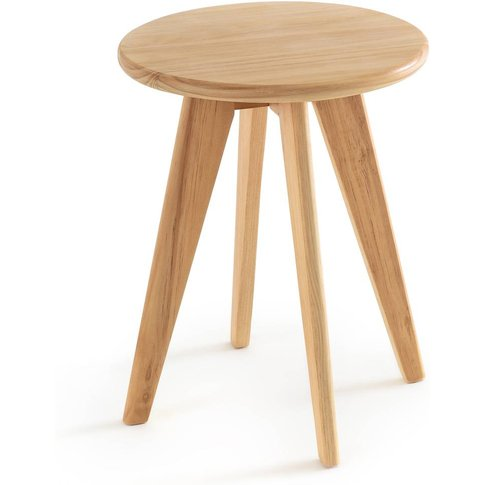 Sabil Solid Pine Stool