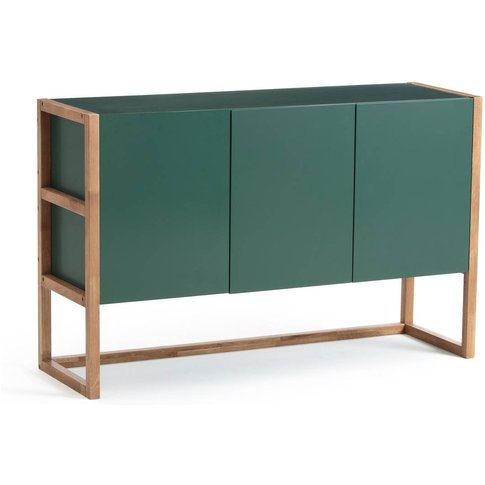 Compo Scandi-Style Oak Triple Sideboard