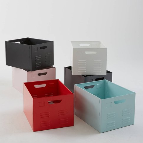 Hiba Metal Storage Box