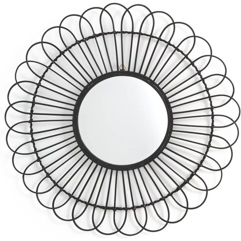 Nogu Rattan Sun Shaped Mirror Ø60cm