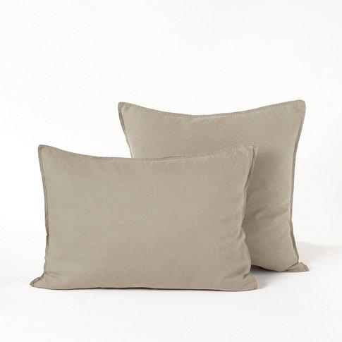 Elina Washed Linen Pillowcase