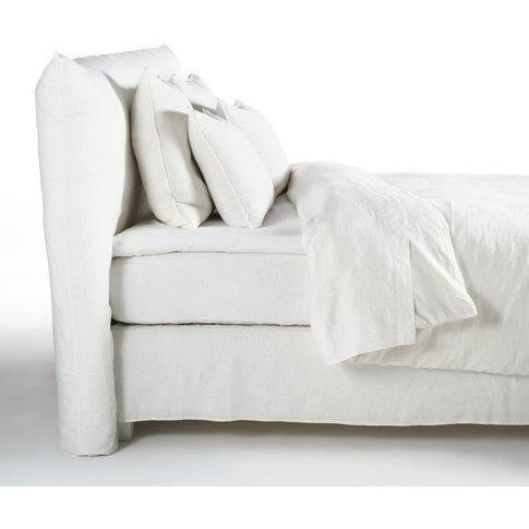 Ophélia Percale Fitted Sheet for Mattress Topper