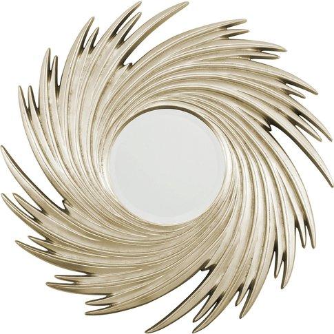 Mirror, Champagne Sunburst Swirl