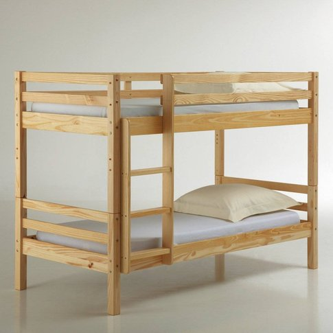 Maysar Solid Pine Twin Bunk Beds