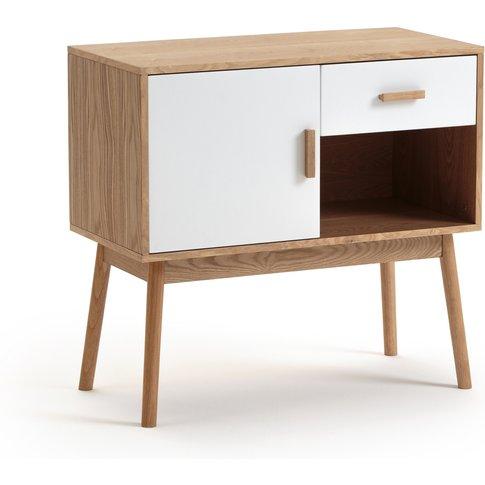 Sheldon Small Scandi-Style Sideboard With Cupboard, ...