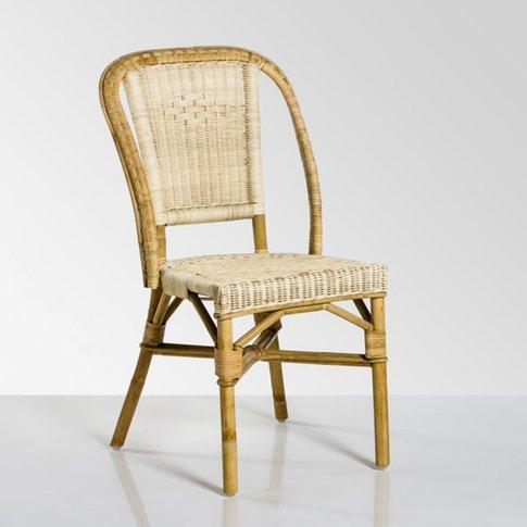 Albertine, natural rattan garden chair