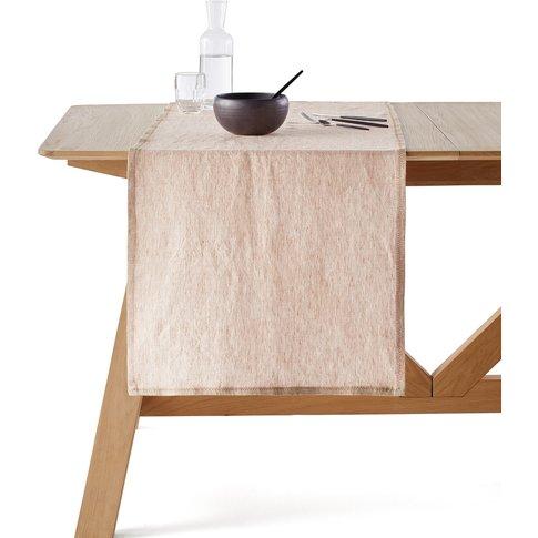 CHANDRAKI Long Linen Table Runner