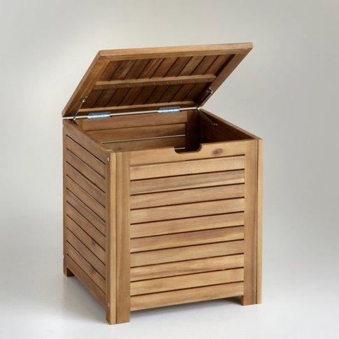Acacia 45cm Long Storage Box