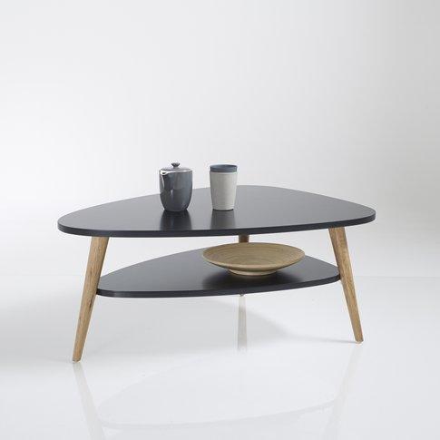 Watford Black Vintage Two-Tier Coffee Table