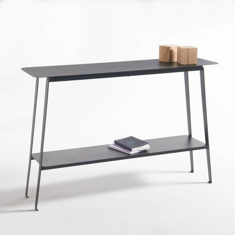 Hiba Steel Console Table
