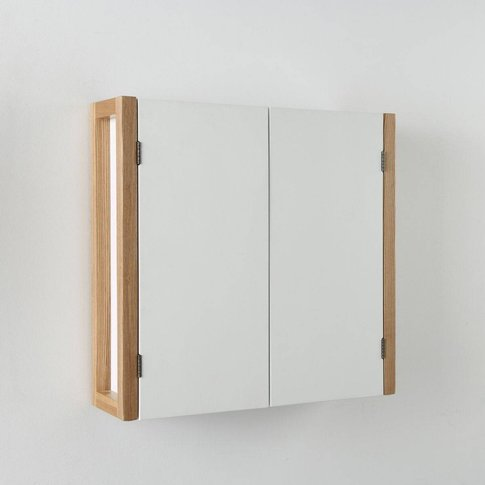 Compo 2-Door Tall Bathroom Unit, Wall-Hanging