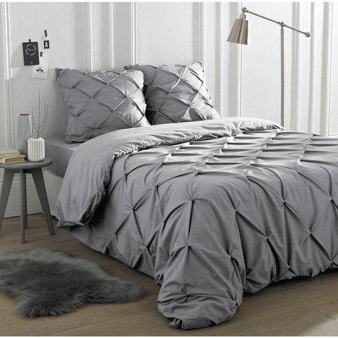 Blanche Ruched Duvet Cover