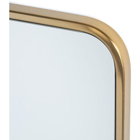 Iodus Metal Mirror, H90cm