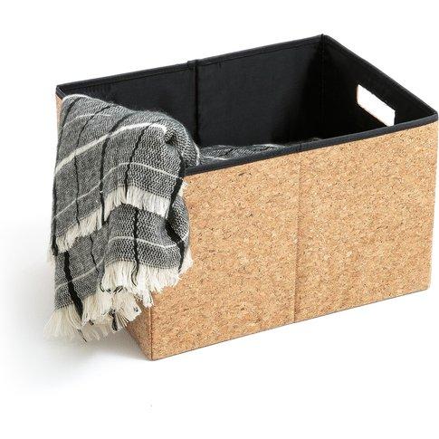 Medium Foldable Cork Storage Box