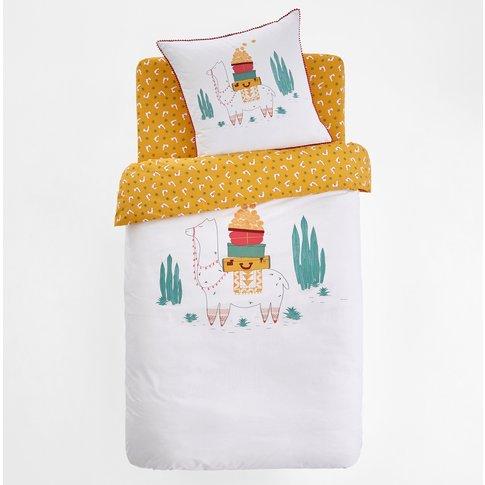Llama Printed Duvet Cover