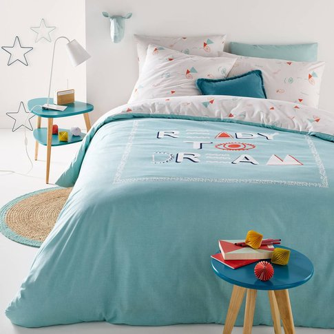 Ready To Dream Printed Duvet Cover